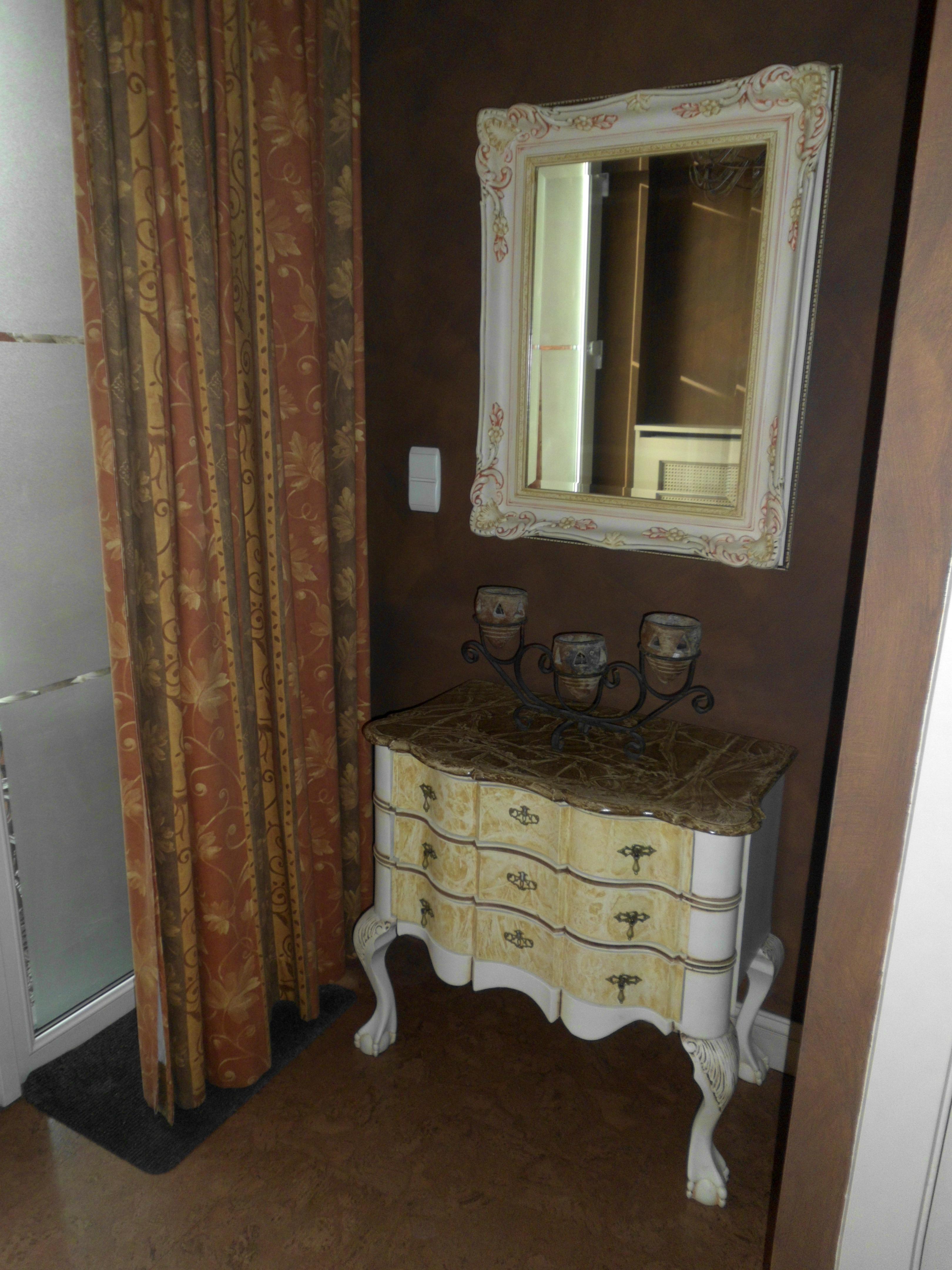 Volledige inkomhal - Deco hal originele badkamer ...